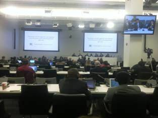Day one high level panel discussion: business action against corruption and the post-2015 development agenda