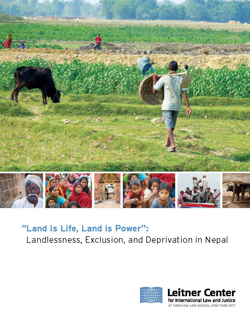 2009 Leitner Nepal Report Cover