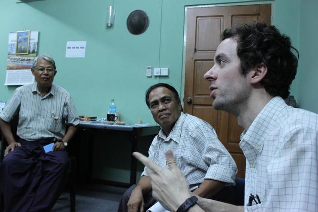 Matt Solomon Myanmar Trip