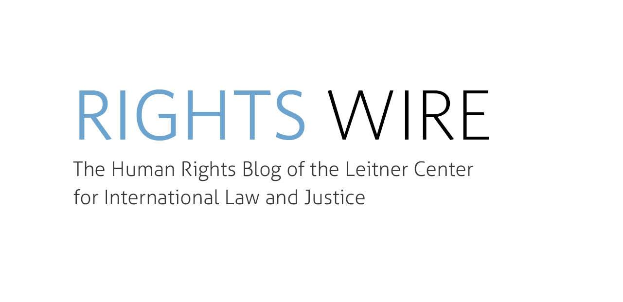 Fall 2016 Writers Wanted: Leitner Center Human Rights Blog